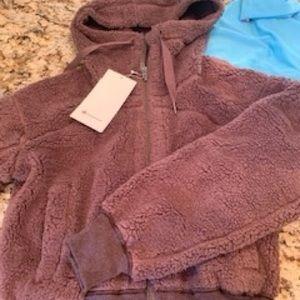 Brand New Lululemon Sweet and Sherpa Jacket (S)